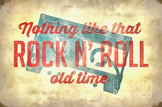 Nothing like that old time rock n roll wall painting by Edward Fielding