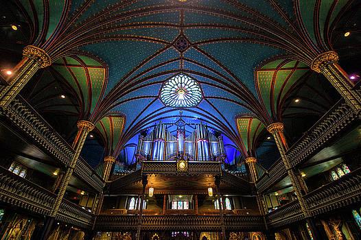 Notre Dame Basilica Organ by Michael Gallitelli