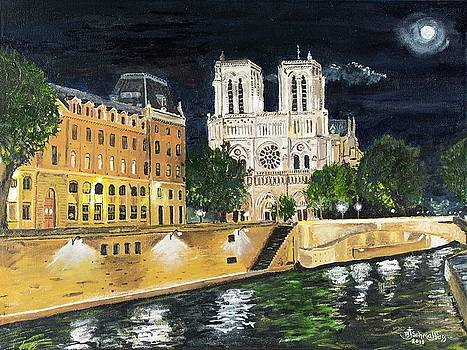 Notre Dame by Bruce Schmalfuss