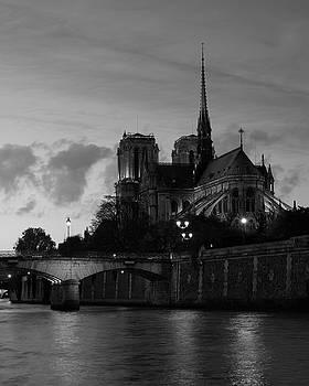 Notre Dame by Night by Richard Goodrich