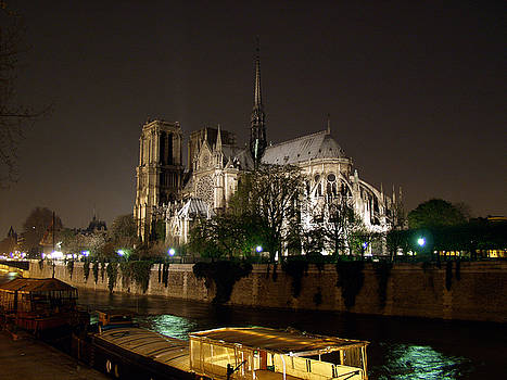 Notre Dame Cathedral by Mark Currier