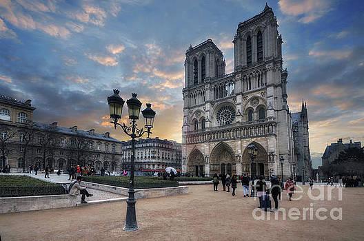 Notre Dame Cathedral Paris 2.0 by Yhun Suarez