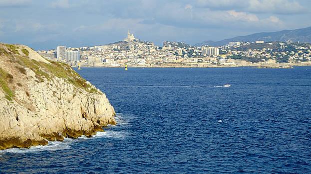 Notre Dame de la Garde Marseille  by August Timmermans