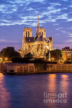 Tim Mulina - Notre Dame de Paris at Sunset
