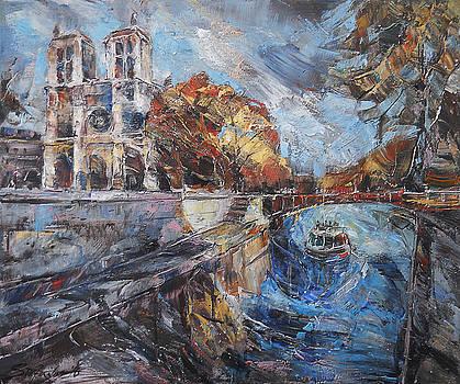 Notre-Dame de Paris by Stefano Popovski