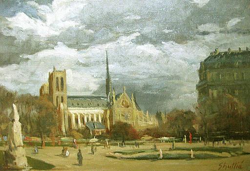 Notre Dame de Paris by Zois Shuttie