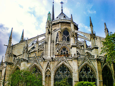 Notre Dame East Side by Robert Meyers-Lussier