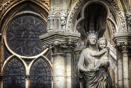 Notre Dame Madonna by Vicki Jauron