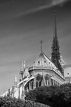 Notre Dame, Paris, France. by Richard Goodrich