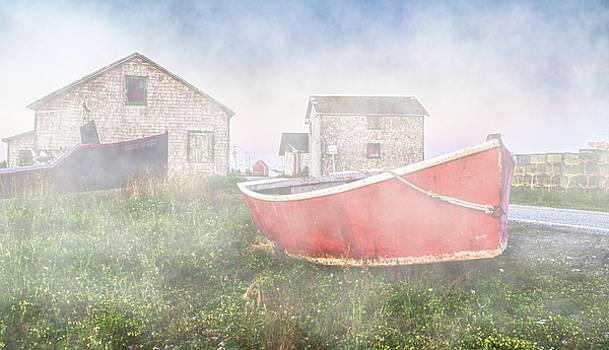 Garvin Hunter - Nova Scotian Fishing Village