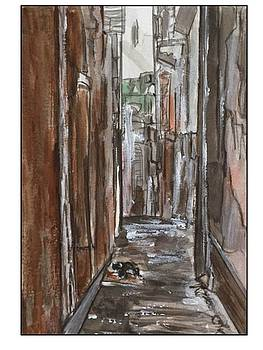 Novara Town Sicily by Angela Puglisi