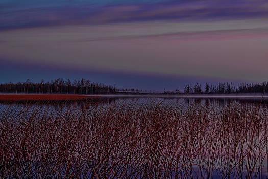 Dale Kauzlaric - November Clouds Over Thunder Lake
