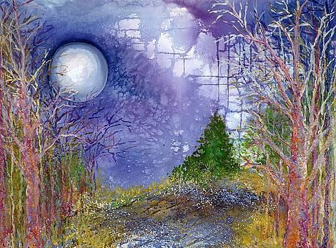November Full Frosty Moon by Robin Samiljan