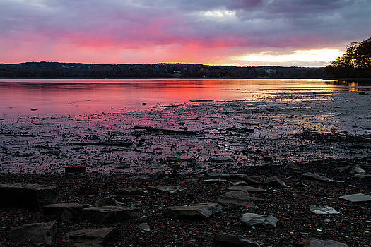 November Sunrise at Esopus Meadows I by Jeff Severson
