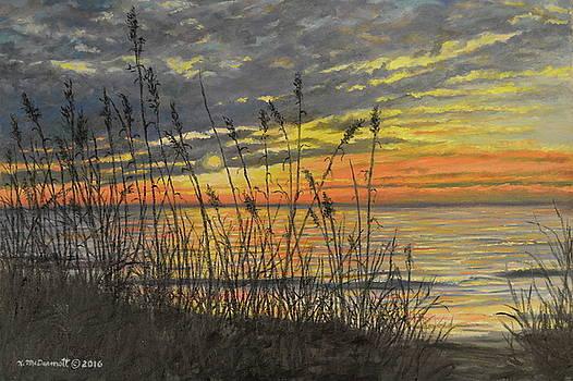 November Sunrise by Kathleen McDermott