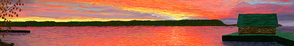 November Sunset Special Crop by George Burr