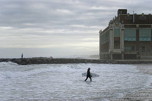 November Surf Asbury Park NJ by Andrew Kazmierski