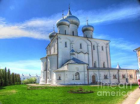 Novgorod Russia by Yury Bashkin
