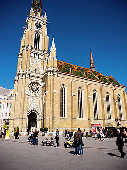 Novi Sad Cathedral by Rae Tucker
