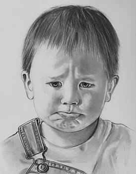 Now Show Me Your Sad Face Tommy by Barb Baker