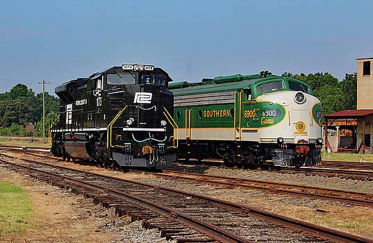 NS Heritage Locomotives Family Photographs 1073 a by Joseph C Hinson Photography