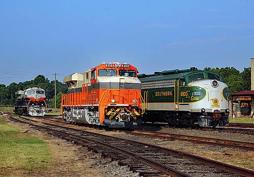 Ns Heritage Locomotives Family Photographs 8105 a by Joseph C Hinson Photography