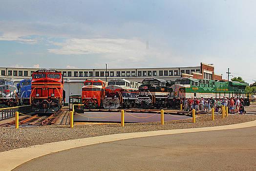 NS Heritage Locomotives Family Photographs 8114 H by Joseph C Hinson Photography