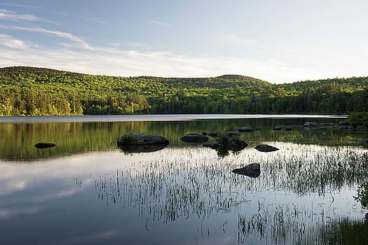 Nubanusit Lake Sunset by New England Photographic