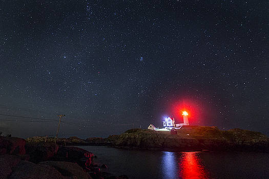 Nubble Lighthouse 2 by Austin Perry