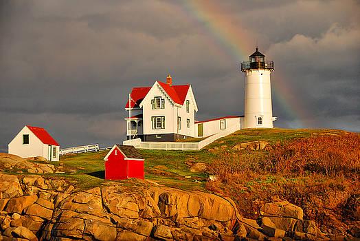 Nubble Lighthouse by Cliff Nixon