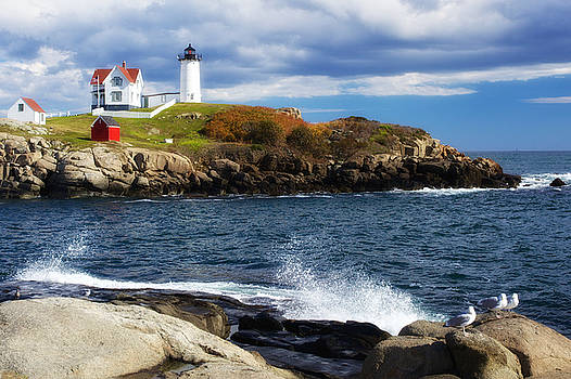 Nubble Lighthouse by John Daly