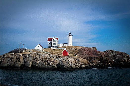 Nubble Lighthouse by Maura Gallagher