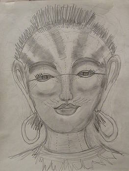 Nubian Goddess Of The Pharaohs by Sharyn Winters