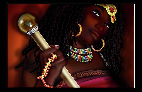 Nubian Queen by Robina Kaira