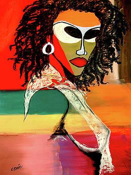 Nubian Warrior by Ernie Benton