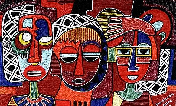 Nuclear family by Lanre Buraimoh