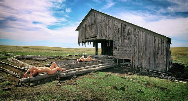 Nude Barn 3 by Sleepy Weasel