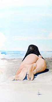 Nude Beach by Richard Hahn