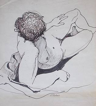 Alex Rahav - Nude drawing 21