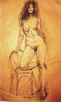 Alex Rahav - Nude Drawing 8