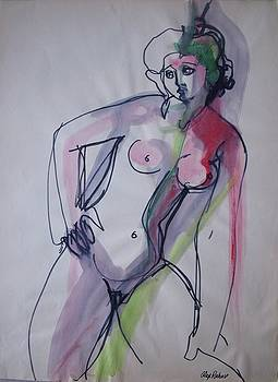 Alex Rahav - Nude drawing