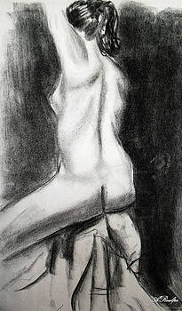 Nude Female Study by Andrea Realpe