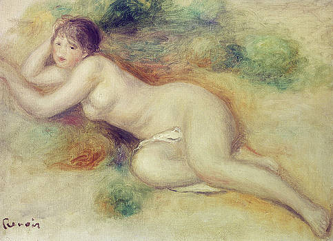 Pierre Auguste Renoir - Nude Figure of a Girl