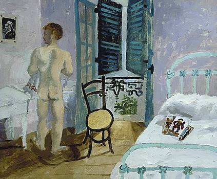 Wood Christopher - Nude In A Bedroom Portrait Of Fr Francis Rose 1930