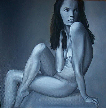 nude Kate Moss by Larisa M