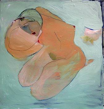 Nude Looking Forward by Brooke Wandall