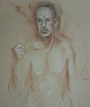 Nude Male by Ruth Mabee
