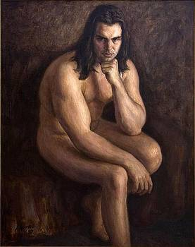 Nude man by Dionisii Donchev