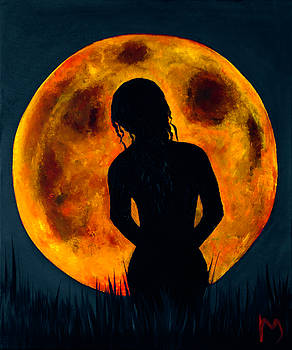 Nude moon soiree by Rolly Mouchaty