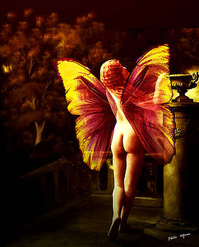 Nude Roman Fairy by Tray Mead